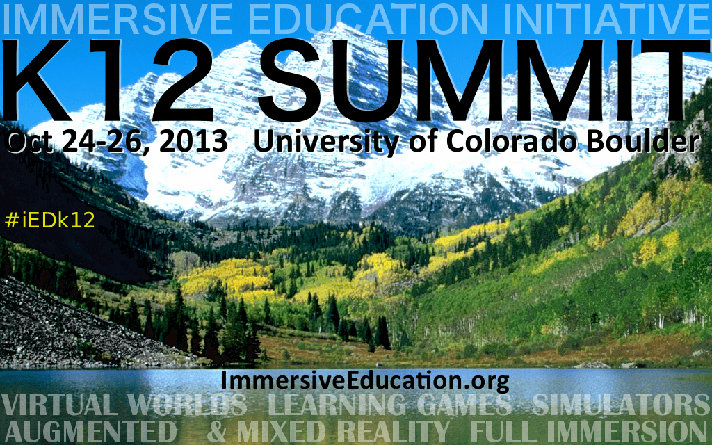 iED K12 SUMMIT : October 24-26 COLORADO